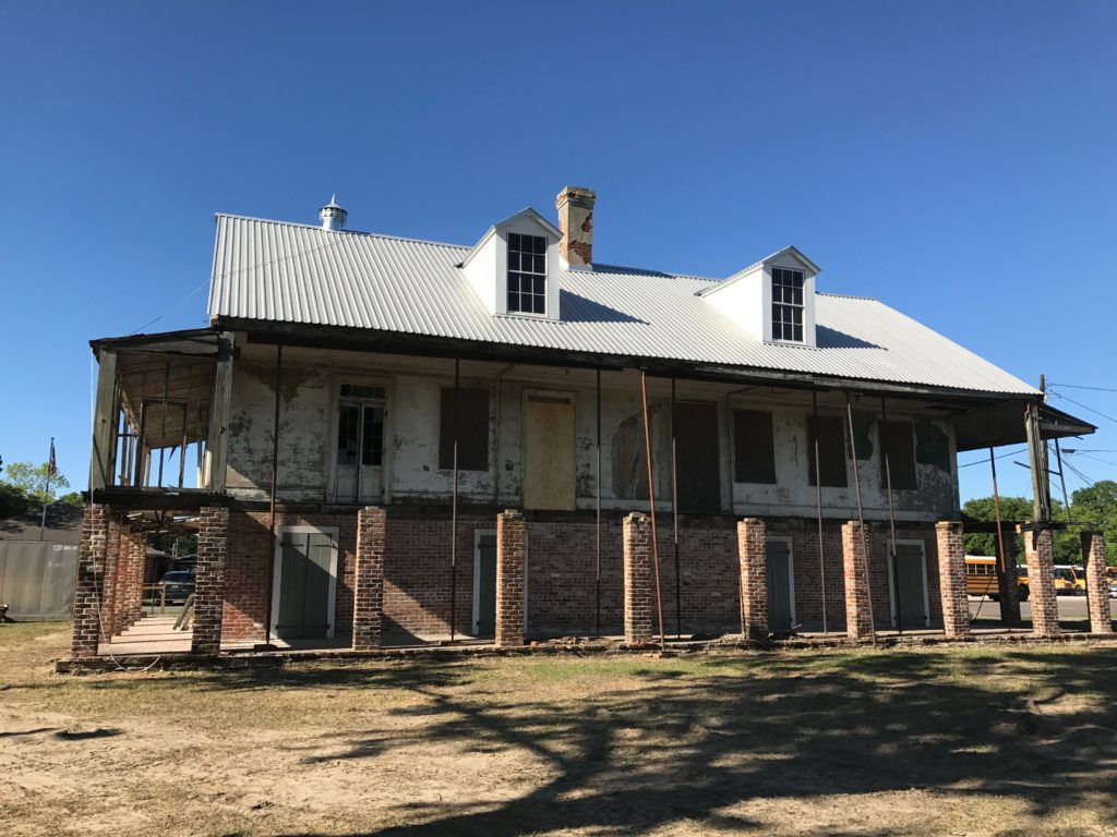 New Roof on Godchaux-Reserve House